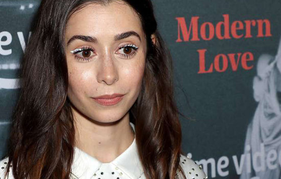 Cristin Milioti at Amazon's Museum of Modern Love
